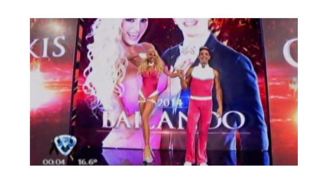 Bailando 2014: el pico más alto de rating lo hizo la griega Xipolitakis