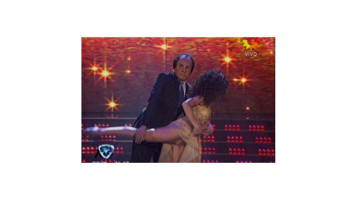 El debut del Gran Bailando: Freddy Villarreal fue Daniel Scioli