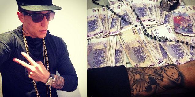 Alexander Caniggia se hizo el canchero en Instagram y sus seguidores lo destrozaron