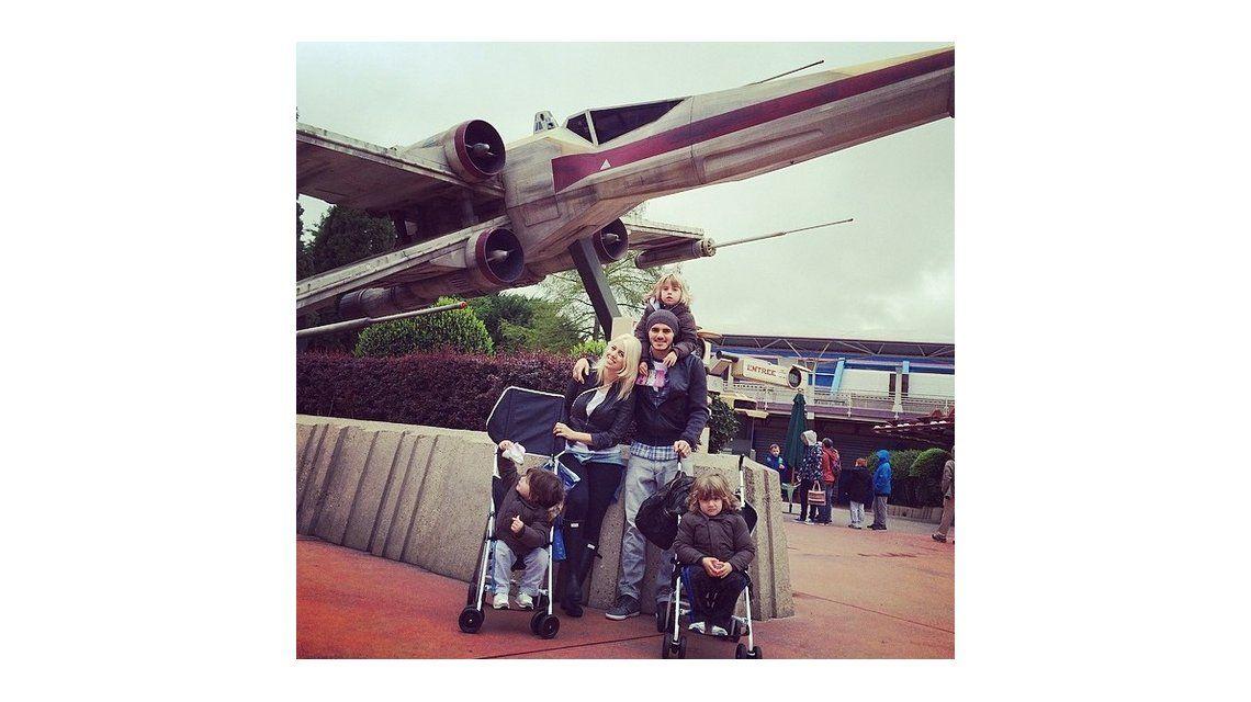 Igual que Wanda, Icardi sigue provocando a Maxi López: subió fotos con sus hijos en las redes sociales