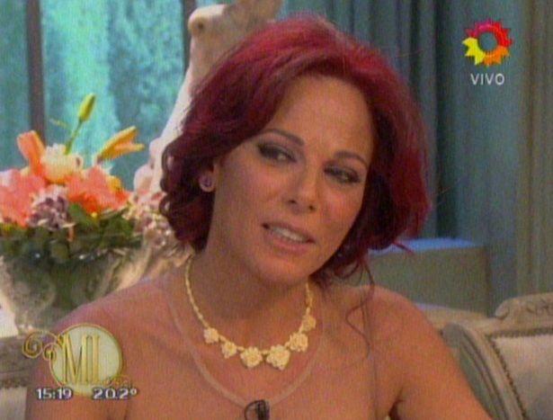 Iliana Calabró sorprendió a Mirtha: Con Rossi estamos separados