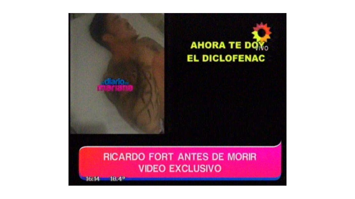 La internación de Ricardo Fort en La Trinidad antes de su muerte, en tratamiento