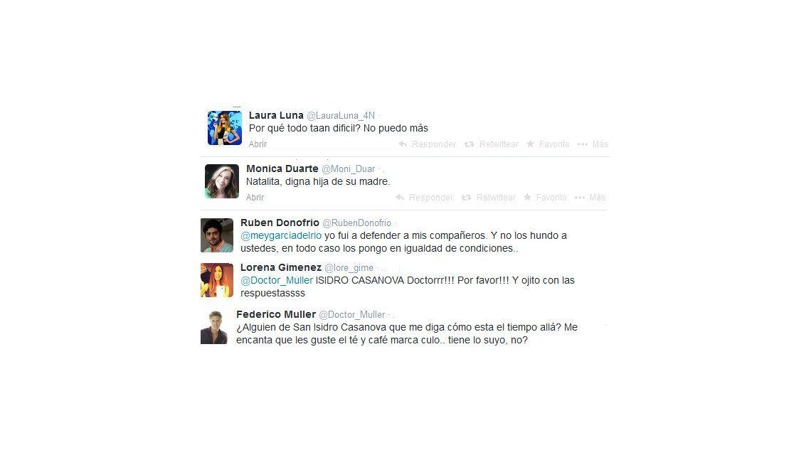 Los personajes de Guapas tienen sus propias cuentas de Twitter y escriben en vivo