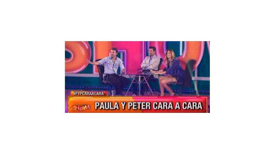 El desopilante blooper de Pedro Alfonso con Paula Chaves cuando hablaban de sus ex
