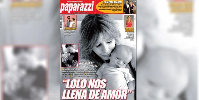 La emoción de Guillermina Valdes por su hijo con Tinelli: Lolo nos llena de amor
