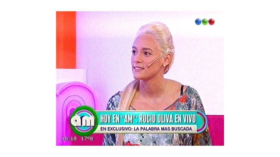 Rocío Oliva durísima con Verónica Ojeda: No creo que haya perdido un hijo de Diego