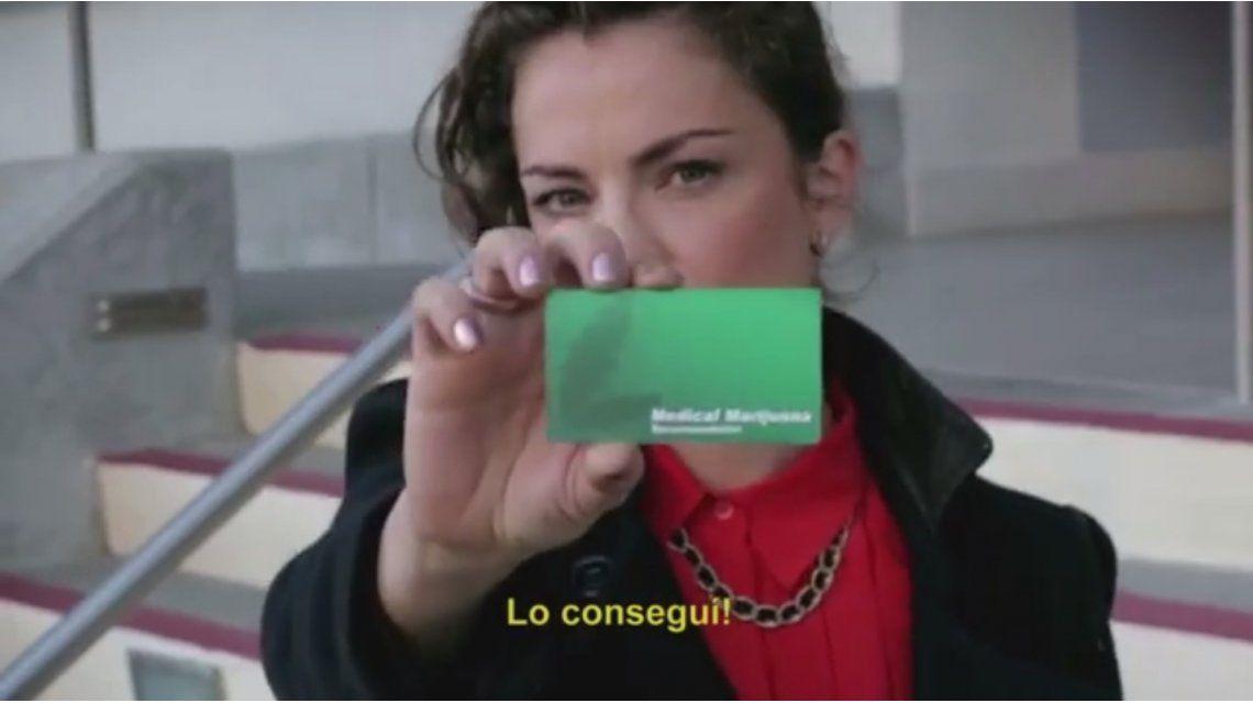 Dolores Fonzi comprando droga en Estados Unidos
