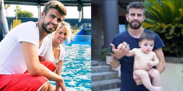 Piqué, a las trompadas con un paparazzi delante de Shakira y su hijo Milan en Barcelona: terminó con el labio roto