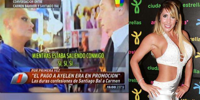 El audio en donde Santiago Bal le reconoció a Carmen que Ayelén Paleo fue su amante