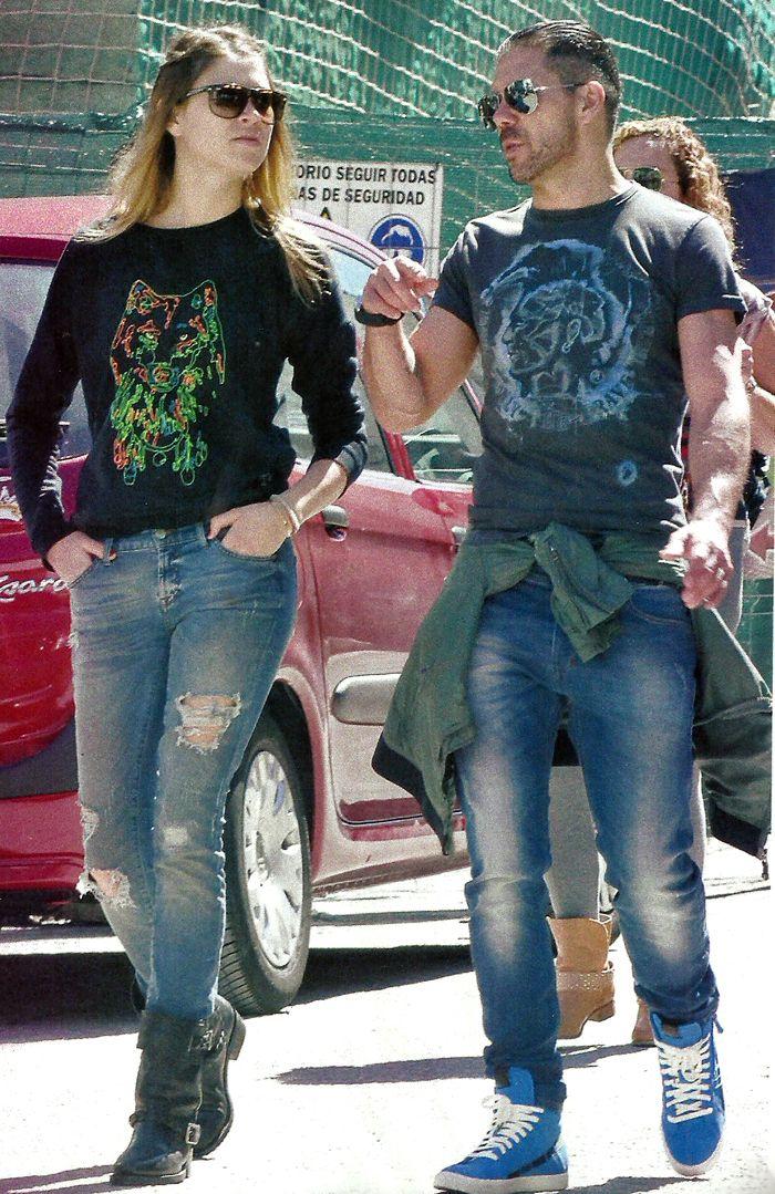 Las primeras fotos del Cholo Simeone con su joven nueva novia