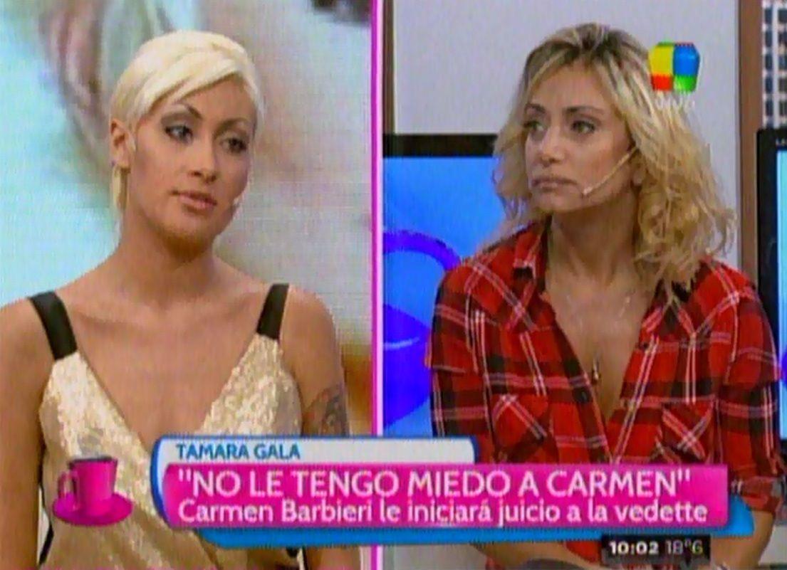 La tremenda pelea en vivo entre Tamara Gala y Andrea Ghidone