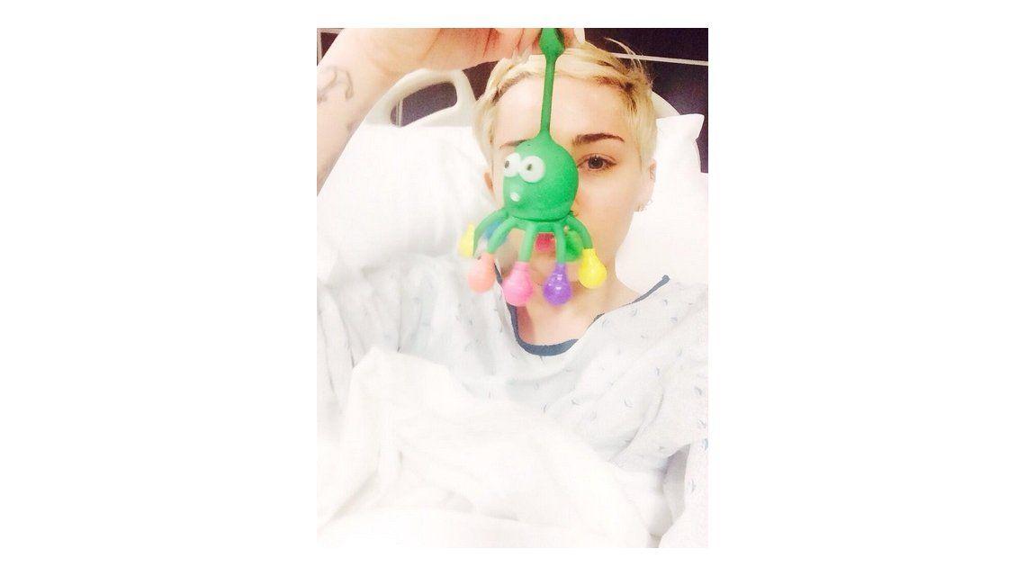 Detalles de la internación de Miley Cyrus