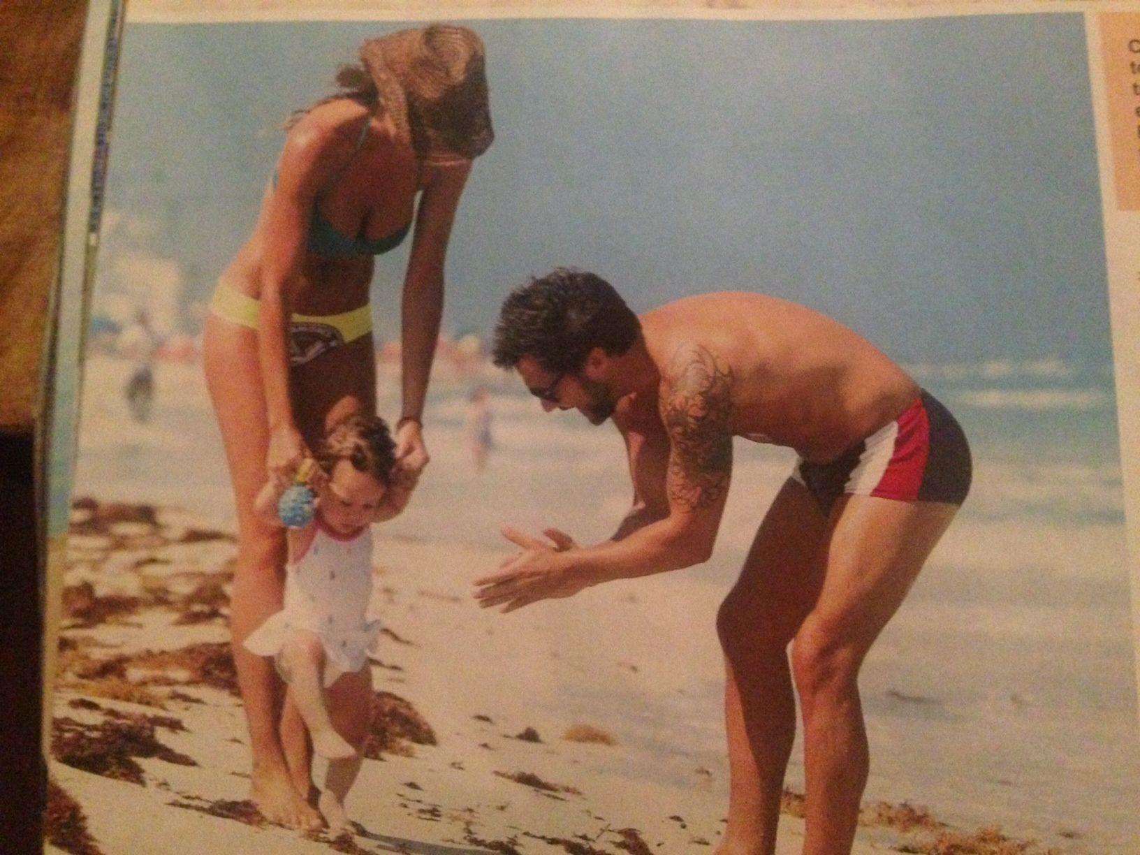 Las imperdibles fotos de Diego Torres y su familia de vacaciones