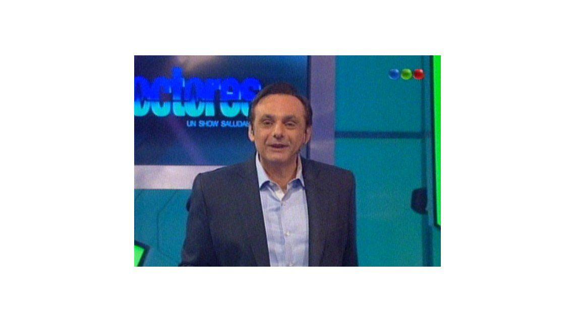 Debutó Doctores: la vuelta de Franco Bagnatto a la televisión con picos de 10 puntos