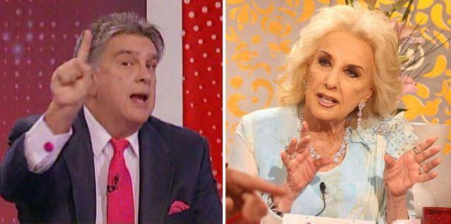 La furia de Luis Ventura contra Mirtha Legrand: Usted es una mierda