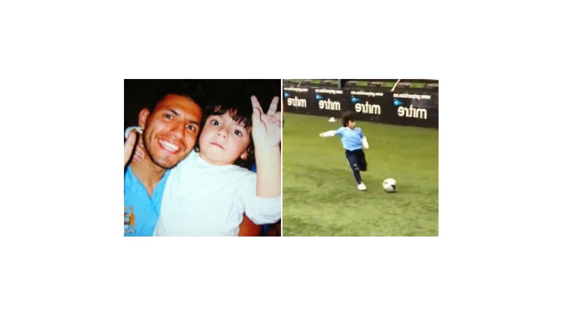 De tal palo, tal astilla: Benjamín Agüero entrenó en el Manchester City