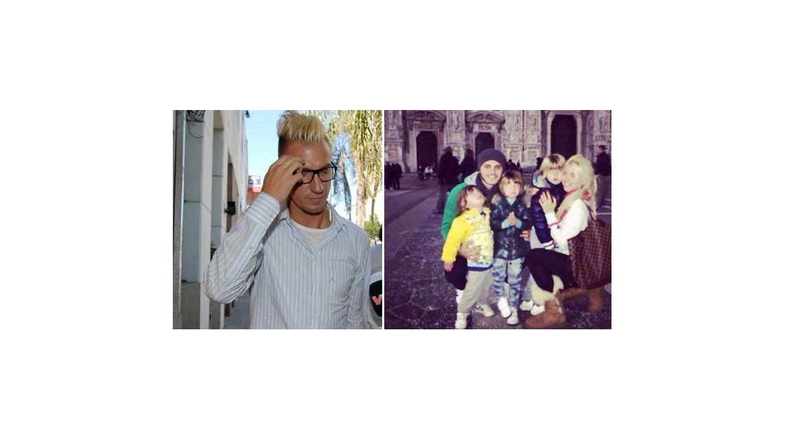 La furia de Maxi López con Icardi por publicar fotos de sus hijos en las redes sociales