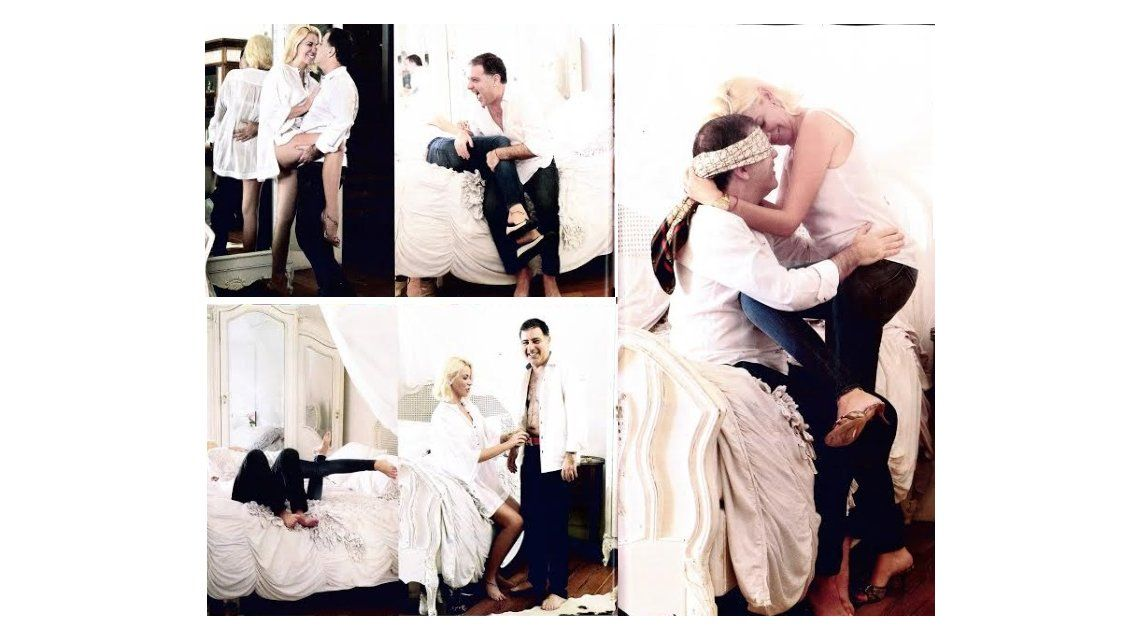 Fabián Doman y su novia juegan al gallito ciego: En la cama somos creativos y apasionados