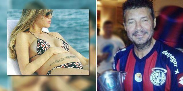 El divertido reclamo futbolero de Guillermina Valdes a Marcelo Tinelli, en reposo y a días del nacimiento de Lorenzo