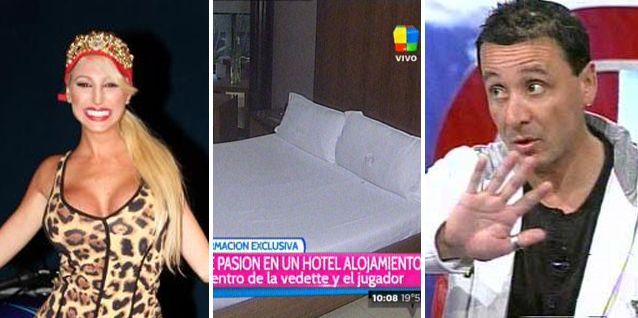 La Griega Xipolitakis fue a un albergue transitorio con su ex y armó un escándalo