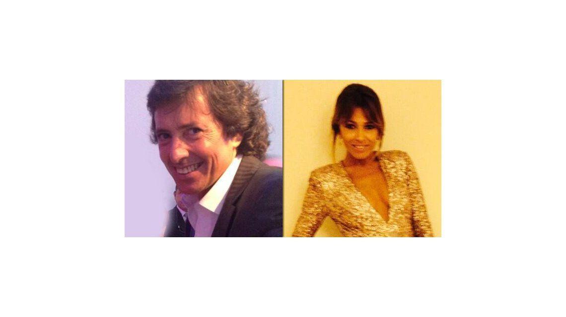 Gustavo Bermúdez y Coki Ramírez, muy juntos en la fiesta de Telefe