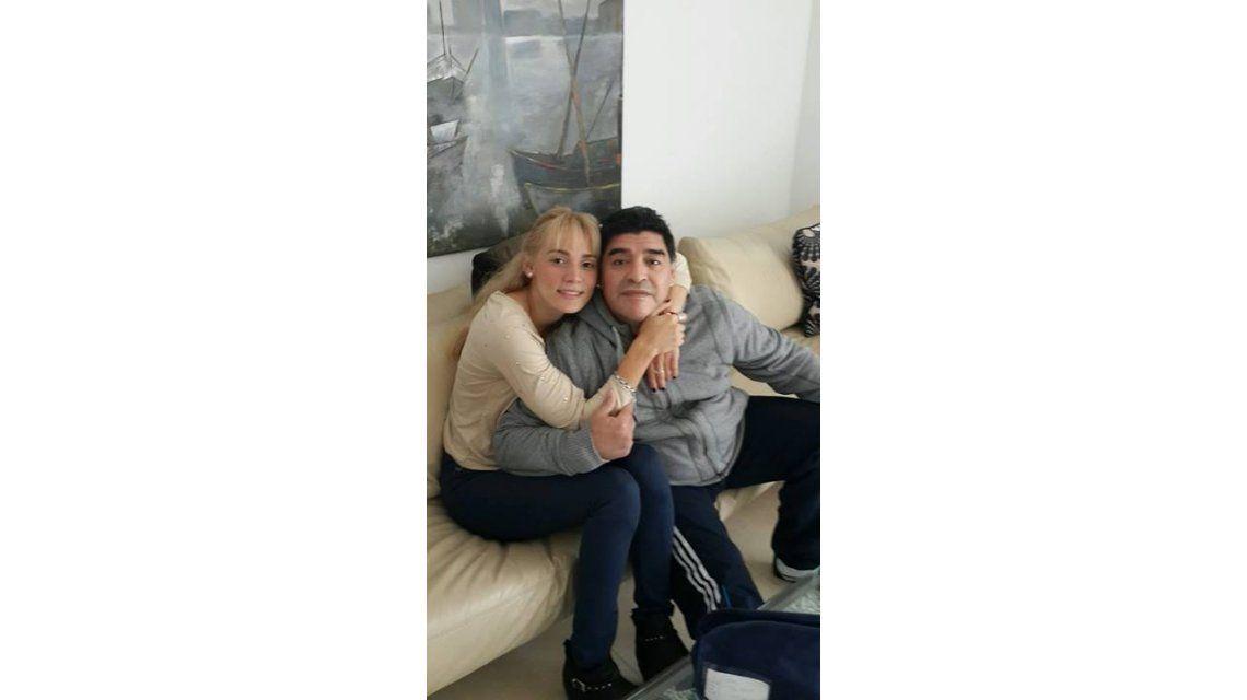 Rocío Oliva, separada de Maradona y desatada: Diego es pasado; quiero disfrutar mis 23 años