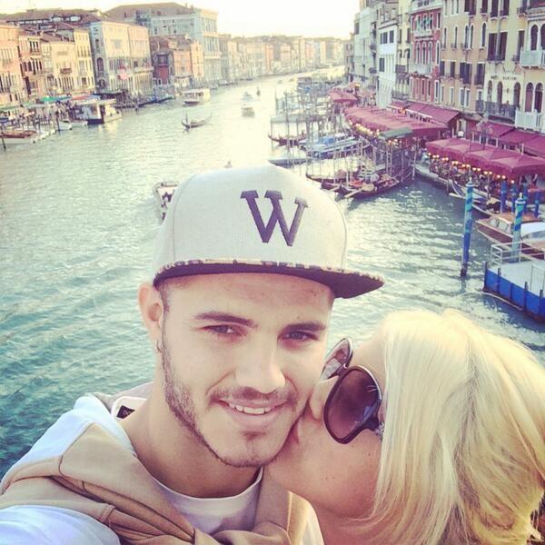 Romance oficializado: Wanda Nara adoptó el apellido de Mauro Icardi en Twitter
