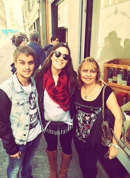 Así pasea Jimena Barón a Morrison, su hijo con Daniel Osvaldo