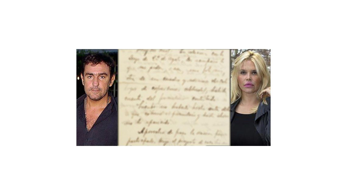La última carta de Fabián Rodríguez a Nazarena: Perdóname así voy al cielo