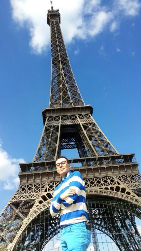 Marcelo Polino en París