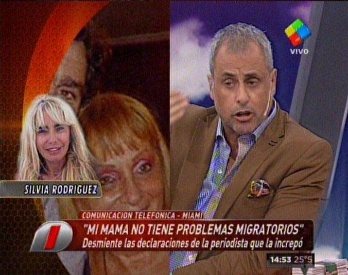 La hermana de Fabián Rodríguez se peleó con el panel de Intrusos: Ojalá nunca les pase