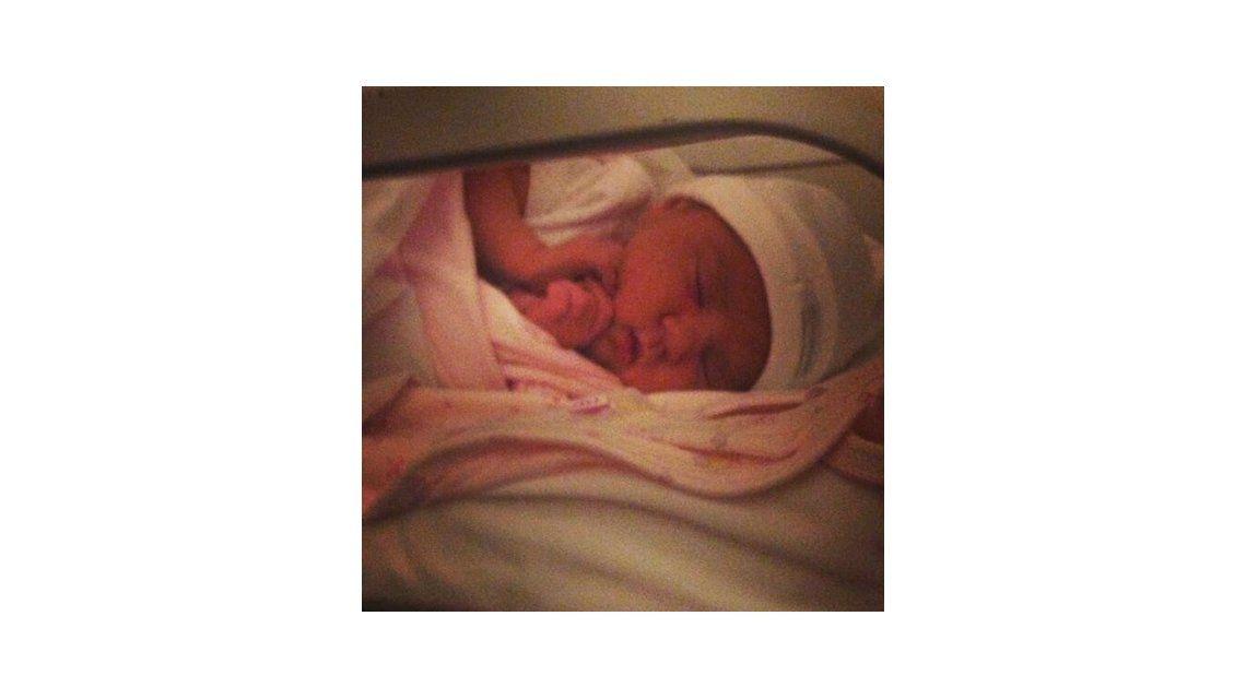 Nació Shuliana, la hija de Tamara Alves
