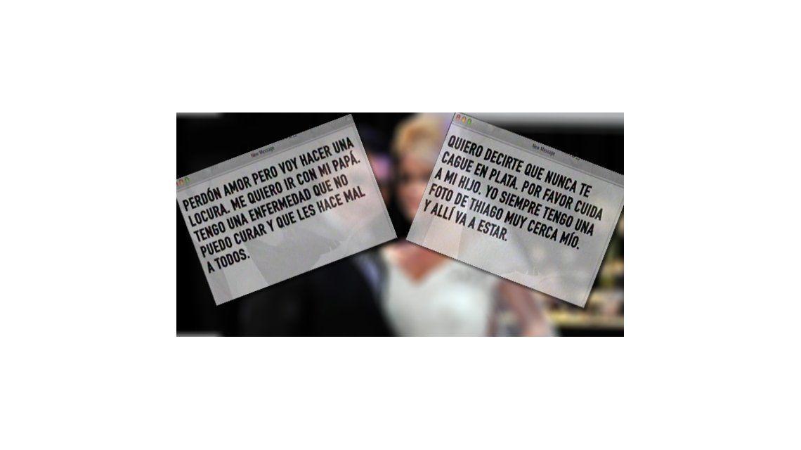 El texto del escalofriante mail de Fabián Rodríguez a Nazarena Vélez