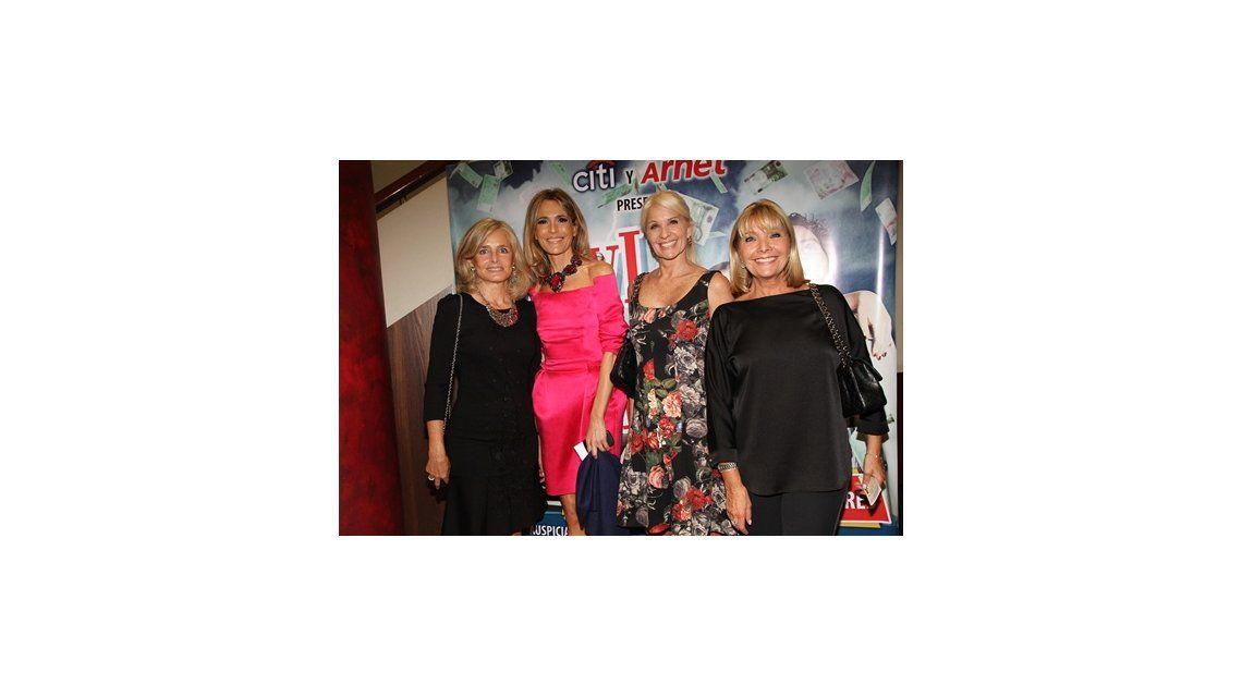 Estrenó Lluvia de plata: las fotos de los famosos en el evento