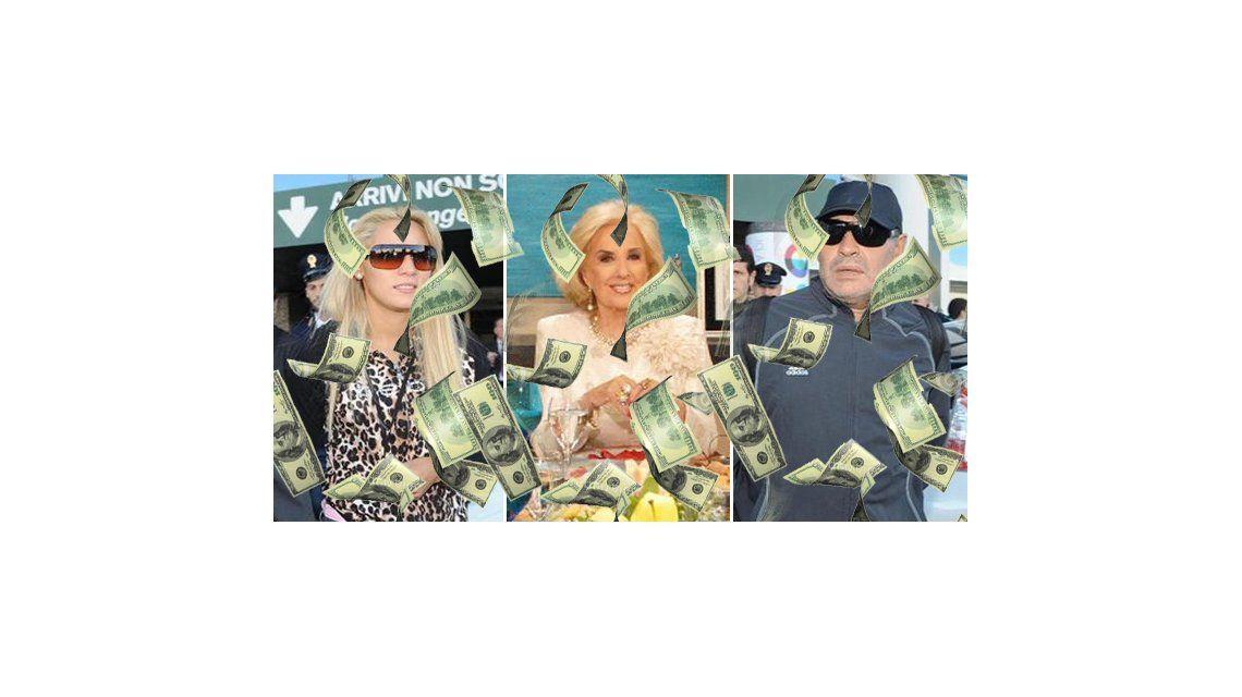 Maradona acusa a Oliva de ladrona y de tener 10 mil razones para ir a lo de Mirtha