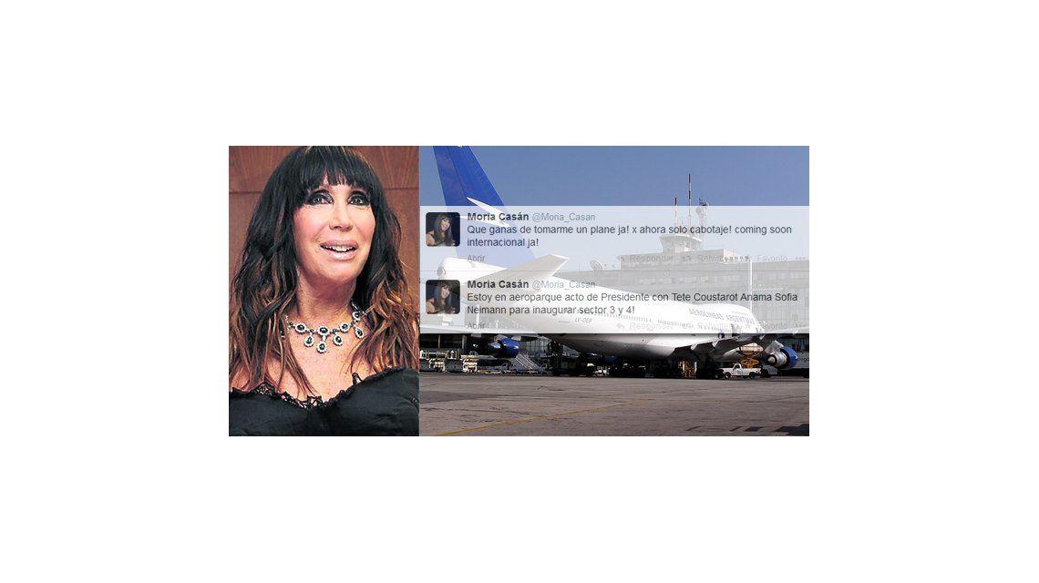 Moria presiona vía Twitter para salir del país: Qué ganas de tomarme un avión