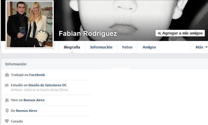 Familiares y amigos de Fabián Rodríguez lo despiden con dolor en su Facebook