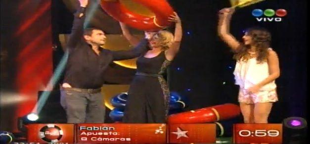 El día en que Fabián Rodríguez y Nazarena jugaron con Susana a Mi hombre puede