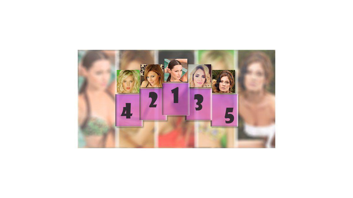 Éstas son las 25 mujeres más sexies de la Argentina según nuestros lectores