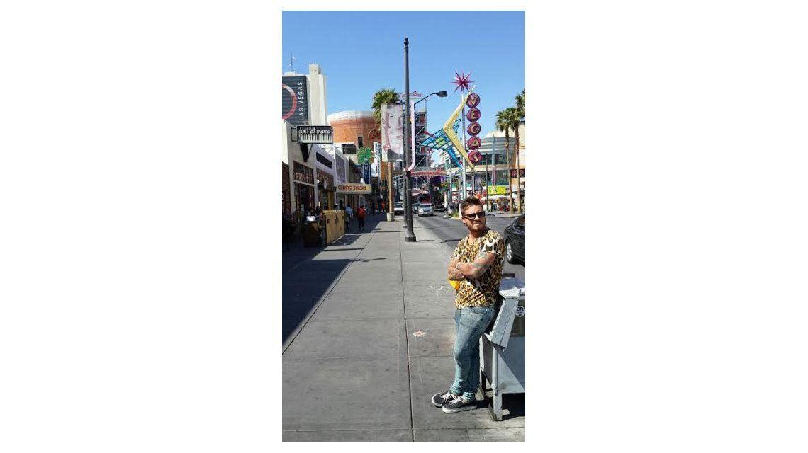 Las locas vacaciones de Federico Bal y Carmen Barbieri en Las Vegas