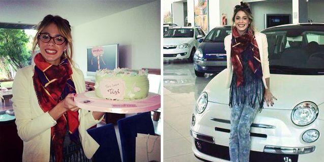 El festejo y el súper regalo que recibió Tini Violetta Stoessel por su cumpleaños