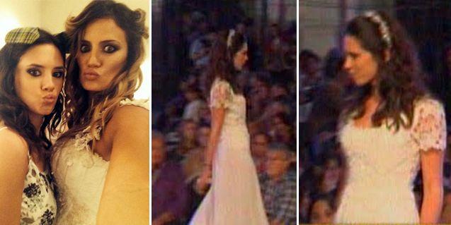 El video del desfile en donde un diseñador maltrató a la hermana de Paula Chaves