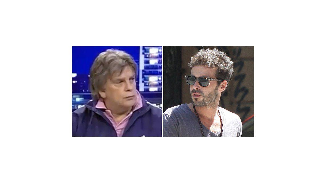 Luis Ventura vs Nicolás Cabré: Es un tipo tosco y corto de cabeza