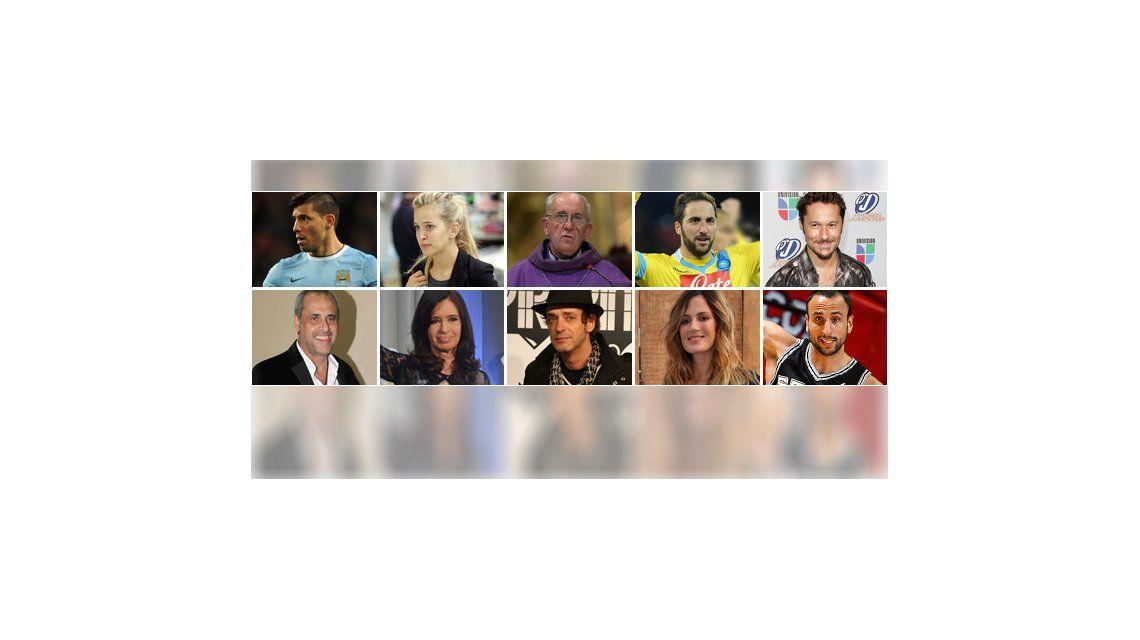 8 años: el ranking de famosos con más seguidores en Twitter