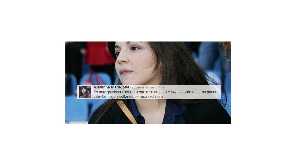 Gianinna contra el mundo: Es graciosa la gente que cae tan bajo en una red social