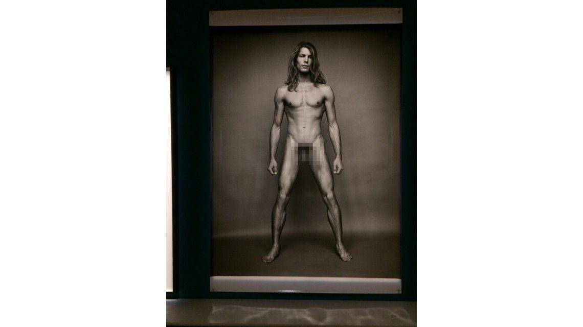¿Crítico de arte? Tinelli publicó fotos de una muestra con alto contenido erótico
