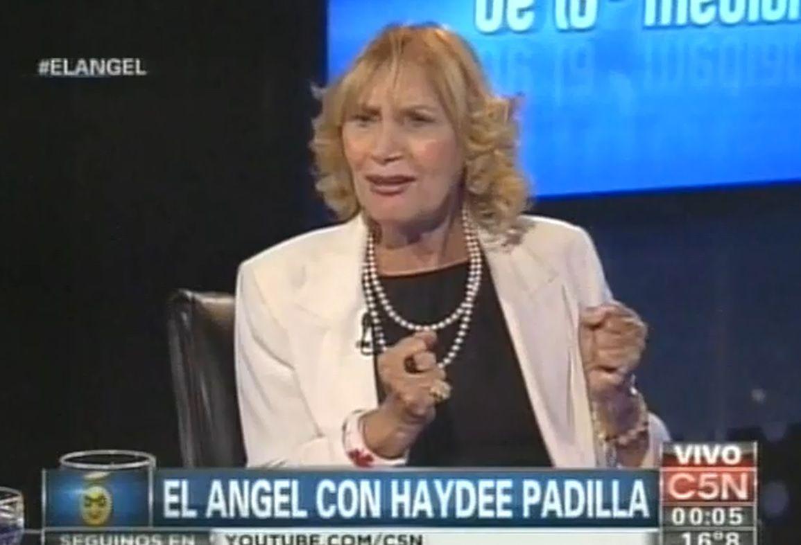 Haydée Padilla: Mi hija se va a hacer el ADN para mostrar que no es de desaparecidos