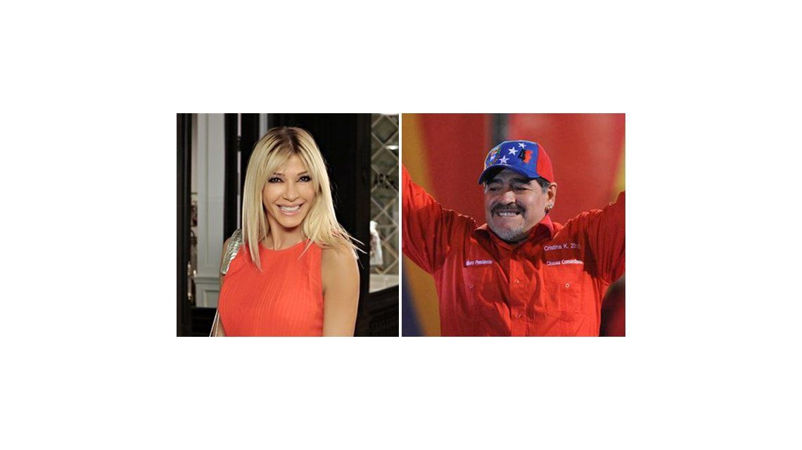 Catherine Fulop vs Maradona: Ocupate de tu vida que tenés mucho para resolver