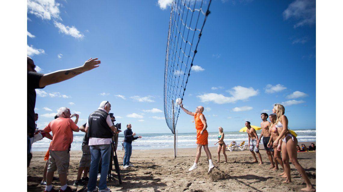 Así empezó el rodaje de Bañeros 4: los rompeolas en Mar del Plata