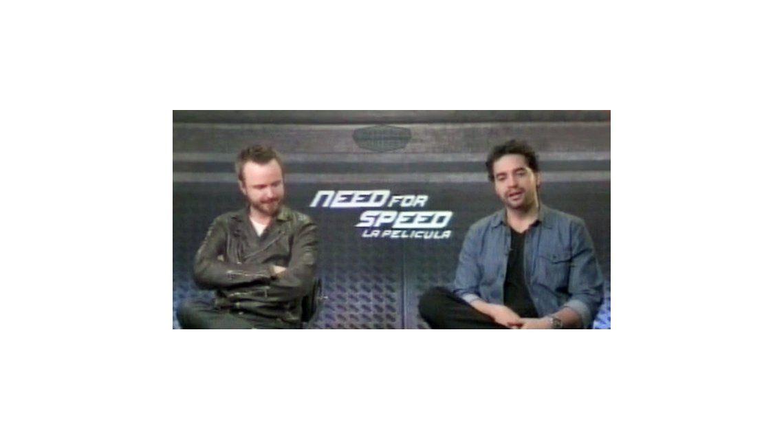 La entrevista con Aaron Paul, protagonista de Breaking Bad y Need for speed